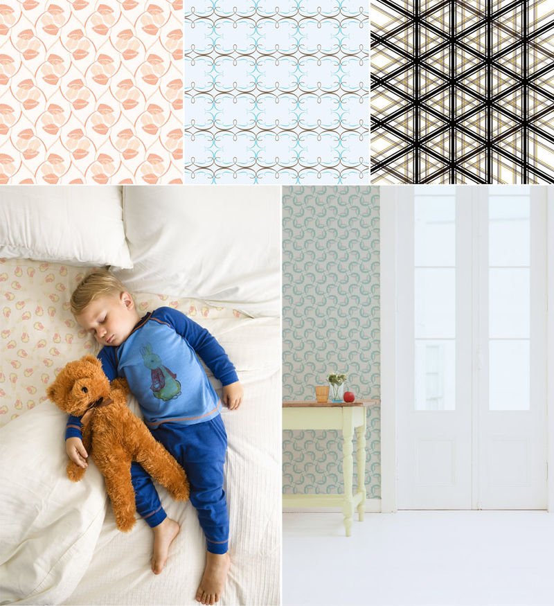 wallpaper patterns modern. Pattern Tales walpaper and