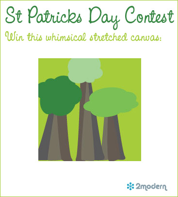 St Patricks Day Contest Win Modern Art Create My Event