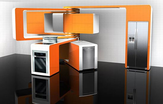 Kitchen Design Innovation and new technology