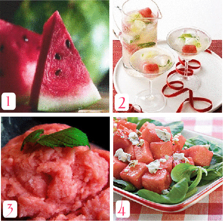 Watermeloncollage
