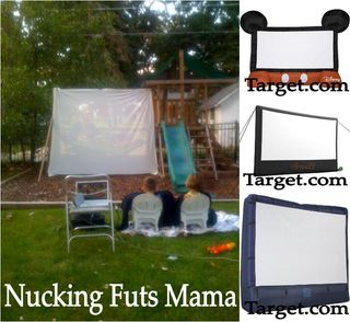 Party Invitations, Party Planning & Event Ideas : Outdoor Movie Night!