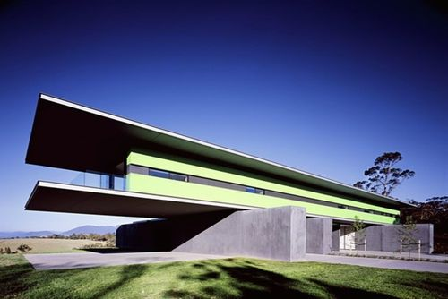 Wilson House, Medhurst Yarra Valley, by Denton Corker Marshall Architects