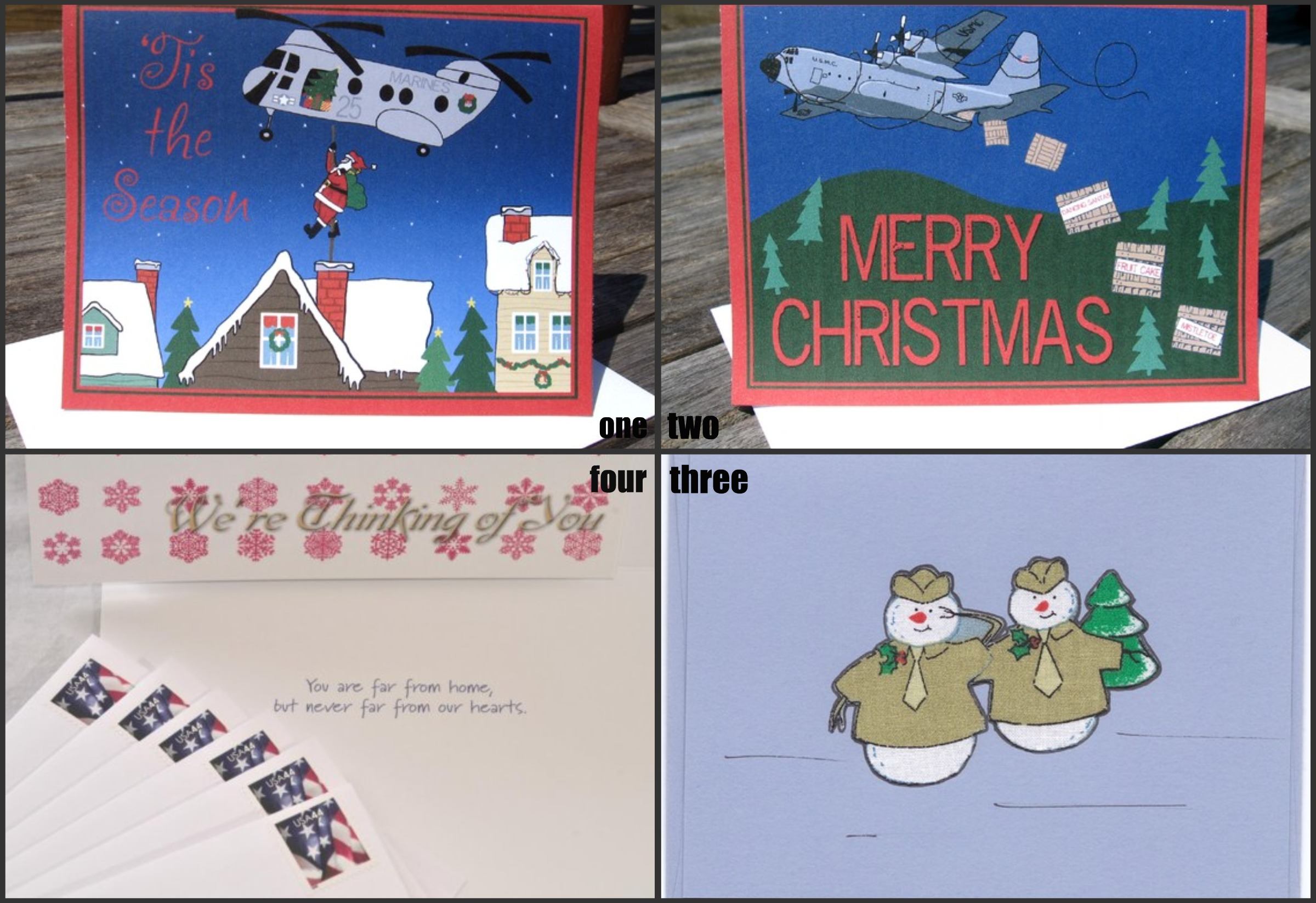 Care Packages Holiday Cards For Troops Veterans Create My Event