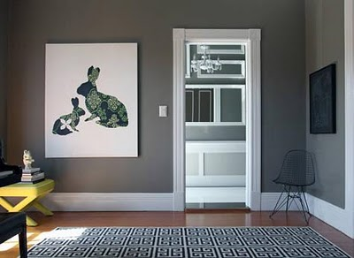 Behr Squirrel Entry Way Room