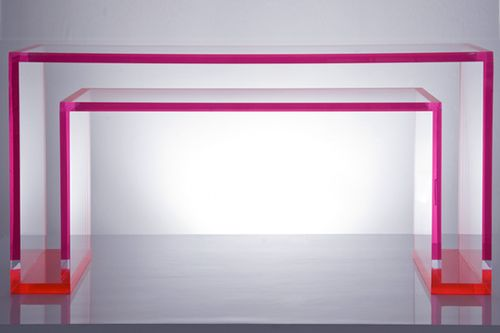 AVF-Brilliant-Lucite-Console-Red Front-6x4