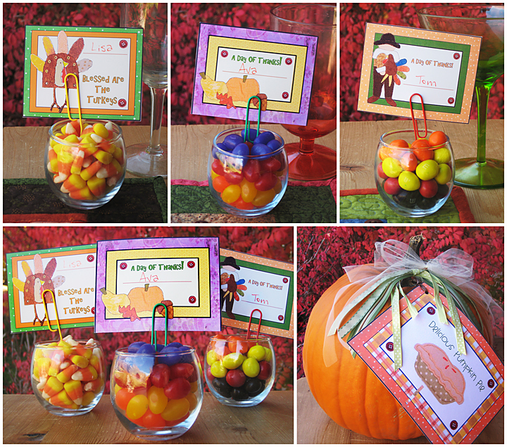 Thanksgiving Party Place Cards. Blog post_name tags_web  sc 1 st  Typepad & Thanksgiving Party Place Cards - Create My Event