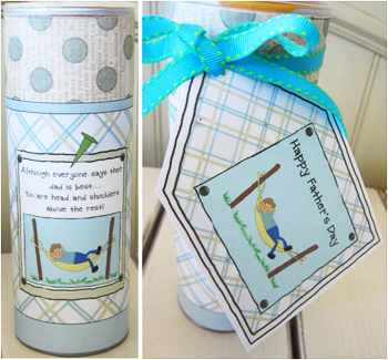 Homemade Father S Day Gift Idea Dad Is The Best Create My Event