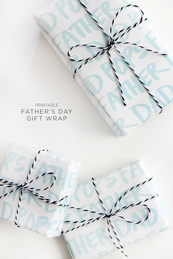 Printable-fathers-day-gift-wrap-almost-makes-perfect