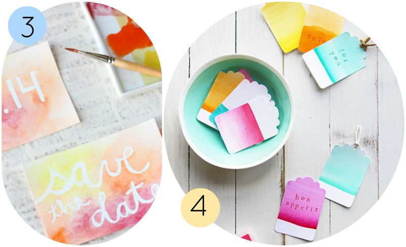 Watercolor Party Ideas 2