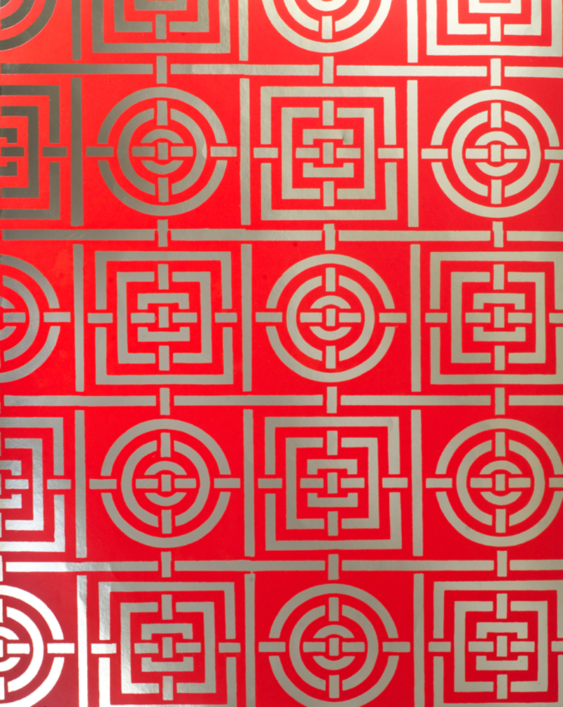 image: Circles and Squares wallpaper by Florence Broadhust
