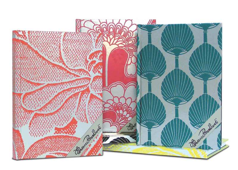 florence broadhurst wallpapers. image: Journals featuring various Florence Broadhurst designs,