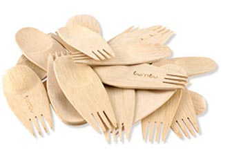 Veneerware Spork Set