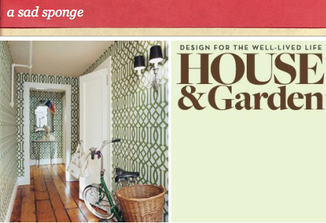 House & Garden magazine closes