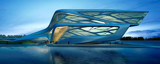 Modern Middle East: Part iii, Performing Arts Centre by Zaha Hadid