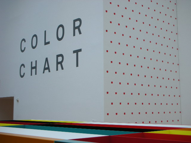 Color Chart at MoMA