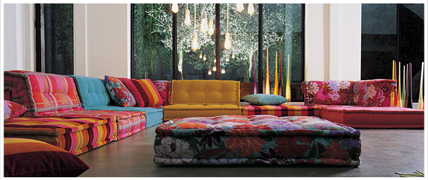 The art of seating…Roche Bobois & Missoni::