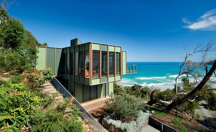 Luxury Beach Home Plan by Australian Architects | Modern House Designs