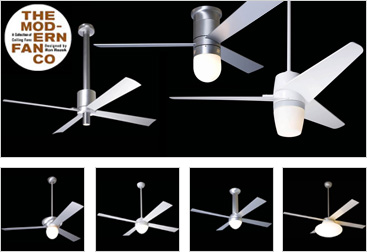 New Modern Fan Lighting
