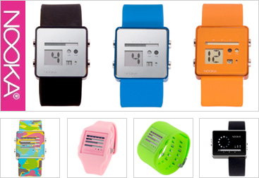 New Nooka Watches