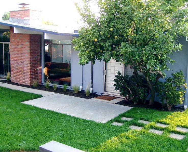 mid century modern landscaping 1500 trend home design 1500