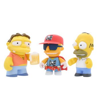 Kidrobot + Simpsons = Awesome