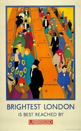 The London Underground and its 100th Anniversary.