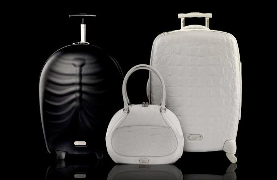 Samsonite Black Label by Alexander McQueen:  What the Well Dressed Traveler Will be Carrying.
