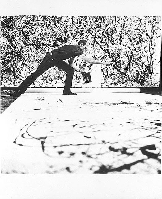 Jackson Pollock revisited